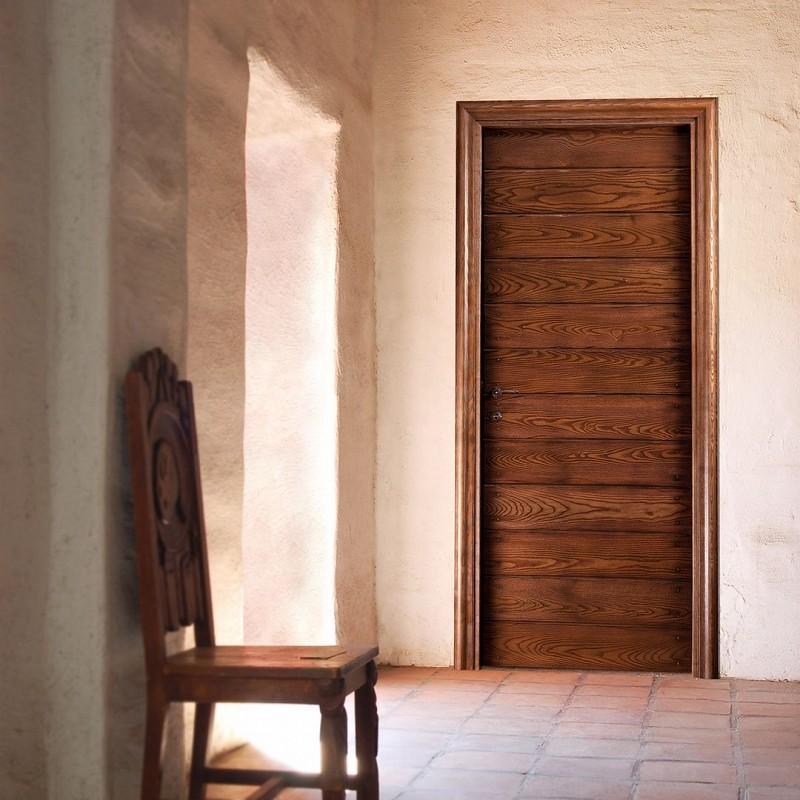 Porte da interno classiche porte rustiche bondi le tende for Porte interne antiche
